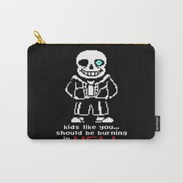 sans HELL Carry-All Pouch