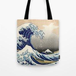 "Katsushika Hokusai ""The Great Wave off Kanagawa"" Tote Bag"