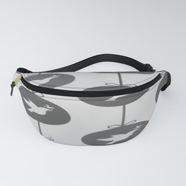 Christmas Patter Pidgeon Pattern Fanny Pack