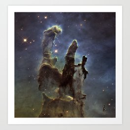 Pillars of Creation (Eagle Nebula) Art Print