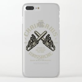 The Chainsaws Massacre Clear iPhone Case