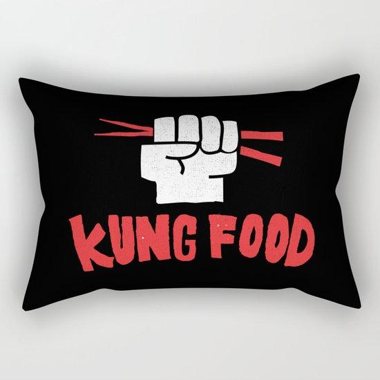 KUNG FOOD Rectangular Pillow