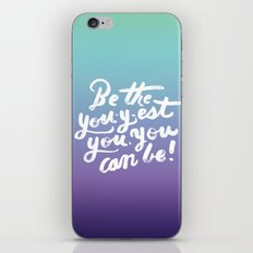 You - Inspiration Print iPhone & iPod Skin