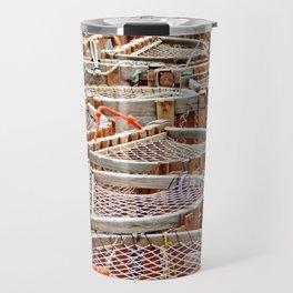 Traditional Lobster Traps Travel Mug
