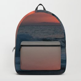 Uncanny sunset in Southern California Backpack