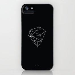 Monochrome Heart iPhone Case