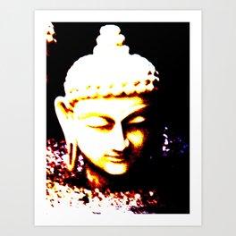 Buda Love Art Print