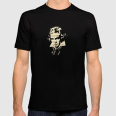 Beethoven - German Composer Mens Fitted Tee Black MEDIUM