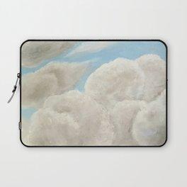 Cloudy Blue Sky Laptop Sleeve