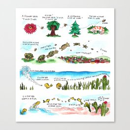 Tree Hugger Kimya Dawson Canvas Print