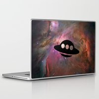ufo Laptop & iPad Skins featuring UFO by Ace of Spades