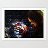 x men Art Prints featuring X men by Luca Leona