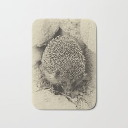 Cute visitor Bath Mat