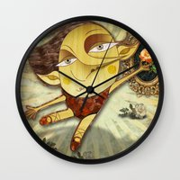 ballet Wall Clocks featuring Ballet by José Luis Guerrero