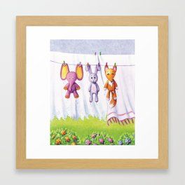 toys Framed Art Print