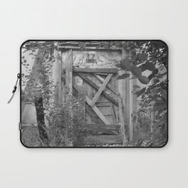 "Door to the deep down ""LIME"" Laptop Sleeve"