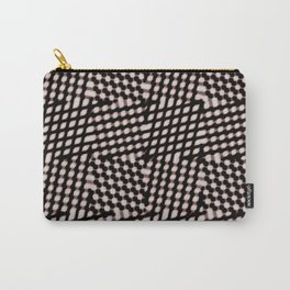 Checked Carry-All Pouch