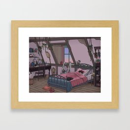 Kiki's Room Framed Art Print