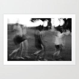 Walk.  Art Print