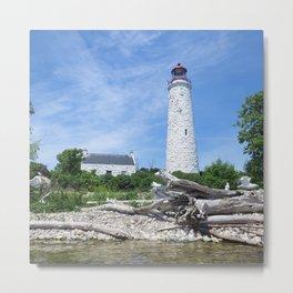 Chantry Island Lighthouse Metal Print