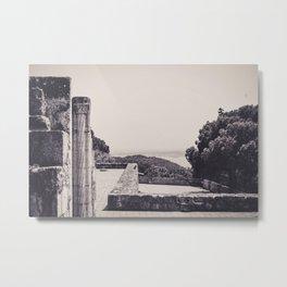 Castelo Jorge lisboa Metal Print