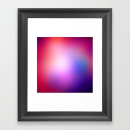 Cosmic Gradient Framed Art Print