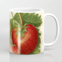 Vintage Illustration of Strawberries Coffee Mug
