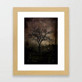 Lights in the Dark Framed Art Print