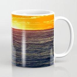 Paddle Boarding at Sunset Coffee Mug