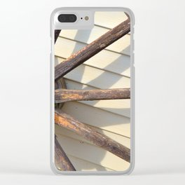 Wheel of a Wagon Clear iPhone Case