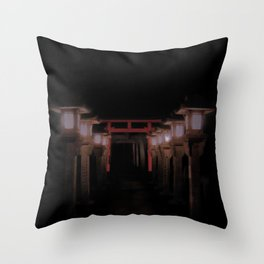 The Light Within (Kyoto, Japan) Throw Pillow
