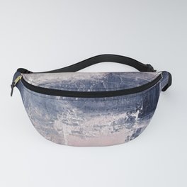 pink navy 2 Fanny Pack