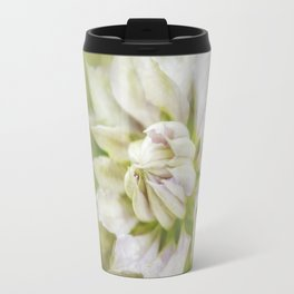 Pale Pink Clematis Travel Mug