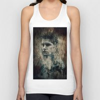 winchester Tank Tops featuring Dean Winchester by Sirenphotos