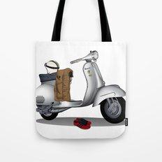 Vespa GS & Casual Stuffs Tote Bag