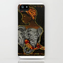 Wise & Free iPhone Case