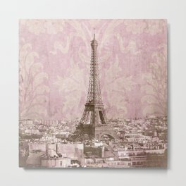 romantic Paris 2 Metal Print