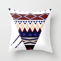 MellowToneTriangle Throw Pillow