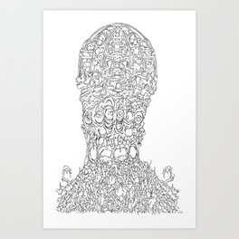 AAARRRGGGHHH!!! Art Print