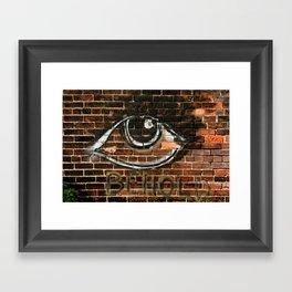 Beauty is in the Eye  Framed Art Print