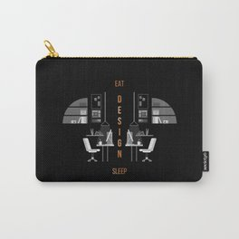 Eat Sleep Design Copper Carry-All Pouch
