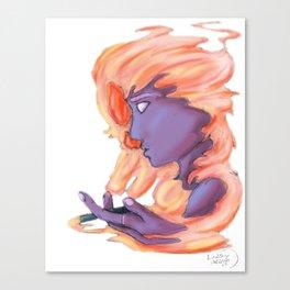 Smoke Screen Canvas Print
