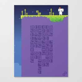 FEZ - Conspire to Tesselate Canvas Print