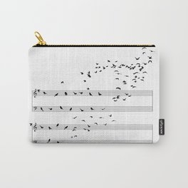 Natural Musical Notes Carry-All Pouch