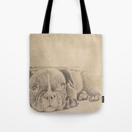 sweet puppy Tote Bag