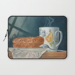 Breakfast of Champions (donut and coffee) Laptop Sleeve