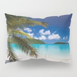 Tropical Shore Pillow Sham
