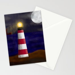The lighthouse Stationery Cards