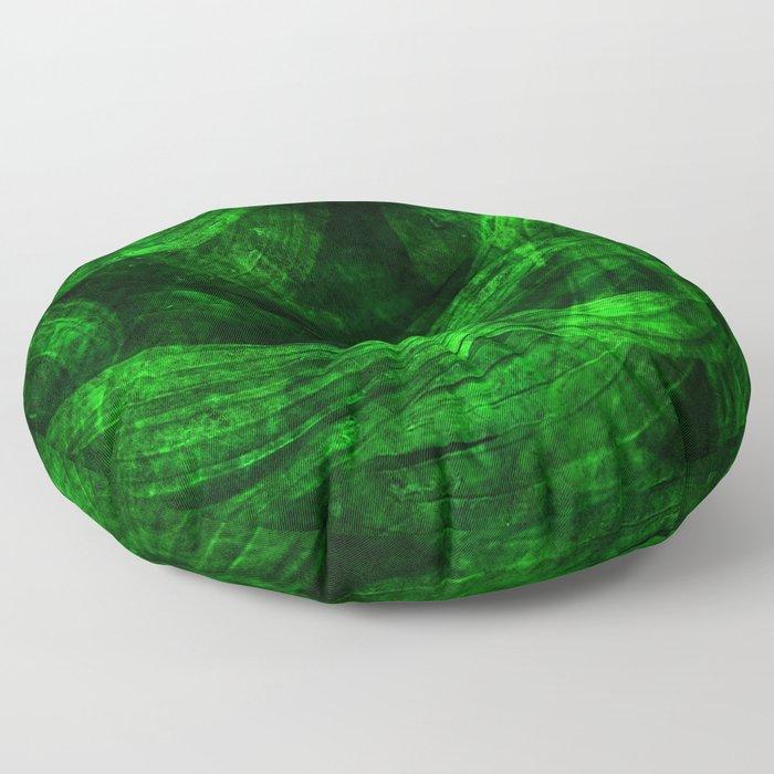 Fresh green nature Floor Pillow