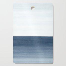 Ocean Watercolor Painting No.1 Cutting Board